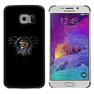 TECHCASE**Cubierta de la caja de protección la piel dura para el ** Samsung Galaxy S6 EDGE SM-G925 ** Rebel X