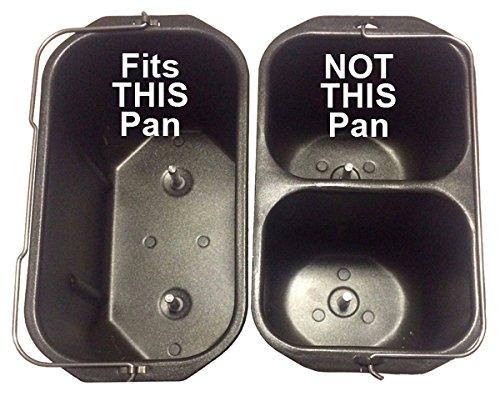 Nueva paleta de amasado para Brylanehome modelo # XBM538 estilo # 46 - 0399 - 9 Xin bao horizontal 2.5-lb Pan Pan de capacidad Panificadora parte eléctrica ...
