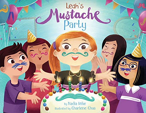 Leah's Mustache Party (English)