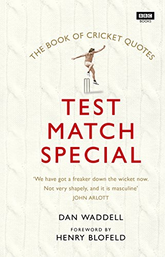 The Test Match Special Book of Cricket (State Liverpool Halloween)