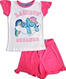MPL (Music Performance Laboratory) MLP Official Licensed My Little Pony Girls Pajamas (Pink, 7 Years)