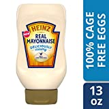 Heinz Real Mayonnaise, 100% Cage Free Eggs, 13 fl. oz Bottle