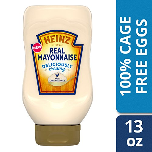 Heinz Real Mayonnaise, 100% Cage Free Eggs, 13 fl. oz Bottle by Heinz