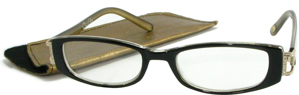 8ac38f12284 Amazon.com  O by Oscar de la Renta Women s Reading Glasses 2 Frames + 2  Cases (2.00