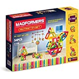 Magformers My First Set (54 Pieces) Magnetic Building Blocks, Educational Magnetic Tiles Kit, Magnetic Construction STEM Set