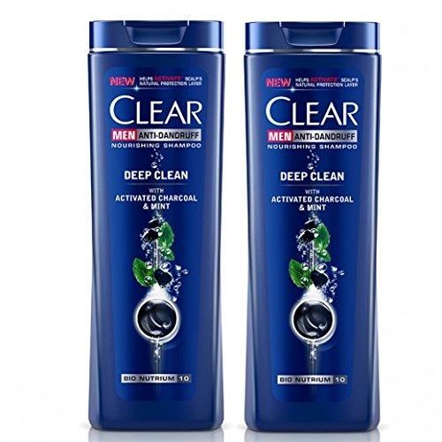Clear Shampoo Deep Cleanse 2 In 1 400Ml/13.52Oz (Deep Cleanse 2 In 1, 3X400Ml/13.52Oz)