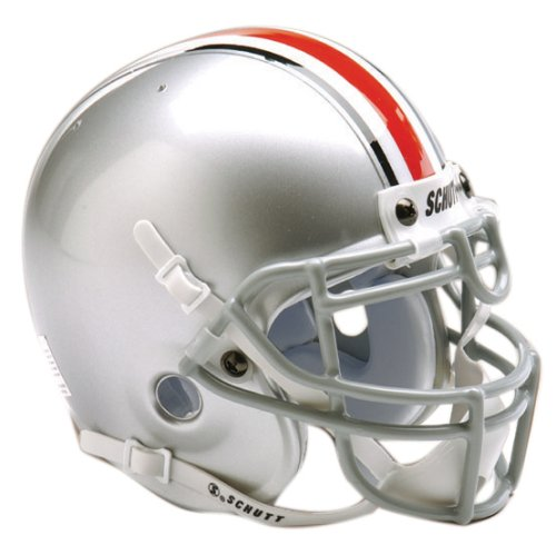NCAA Ohio State Collectible Mini Football (Osu Helmet)