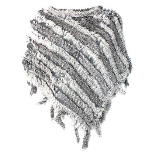G&X Topstyle - Poncho - Casual -  donna grigio Taglia unica