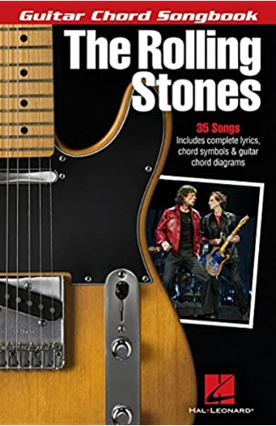 The Rolling Stones Guitar Chord Songbook Guitar Chord Songbooks 9781495000782 Rolling Stones Books