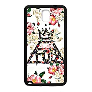 Malcolm Fall Out Boy Floral Logo Cell Phone Case for Samsung Galaxy Note3