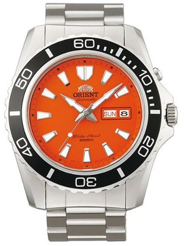 Orient Men's EM75001M Mako XL Analog Automatic Metallic Watch