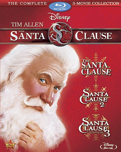 The Santa Clause 3-Movie Collection [Blu-ray] (Option Tackle Box)