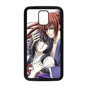 Samsung Galaxy S5 phone cases Black Himura Kenshin AH431554