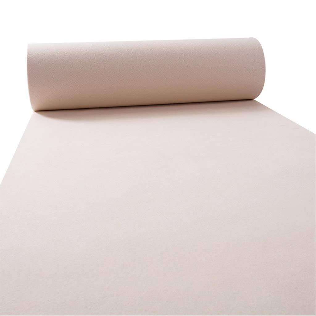 1m×50m Lvdijidian Carpet Runner One-time Wedding Carpet 9mm Wear-Resistant Practical Celebration Home Staircase Event Exhibition Doormat of Decoration (Size   1.5m×20m)