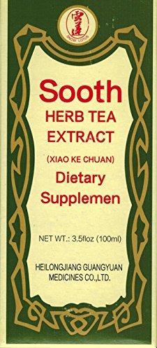 SOOTH HERB TEA EXTRACT (XIAO KE CHUAN) 100ml per box. by Heilongjiang Guangyuan