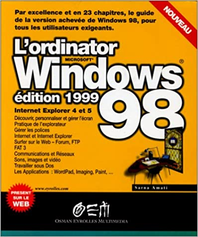 Livre Ordinator windows 98 pdf