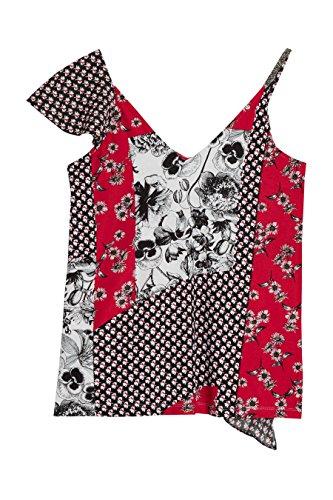 next Mujer Top Adorno Volante Corte Regular Camisa Ropa Estampado Floral