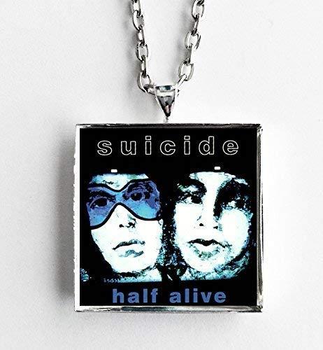 Album Cover Art Necklace Suicide Half Alive
