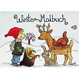 Mini-Malbuch : Winter-Malbuch