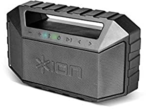 ION Audio Plunge | Waterproof Stereo Boombox with Bluetooth, Built-in  Microphone & Rechargeable Battery (20W)