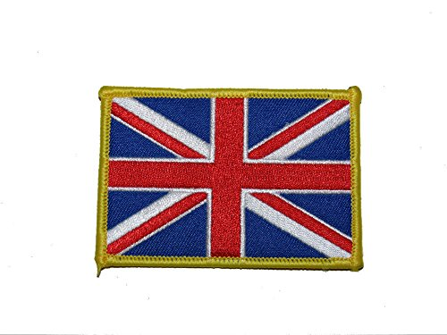 (ALBATROS United Kingdom UK Country Iron On Patch for Home and Parades, Official Party, All Weather Indoors Outdoors )