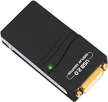 USB To VGA//DVI//HDMI Multi-Display Monitor Graphic Adapter Converter 1920x1080