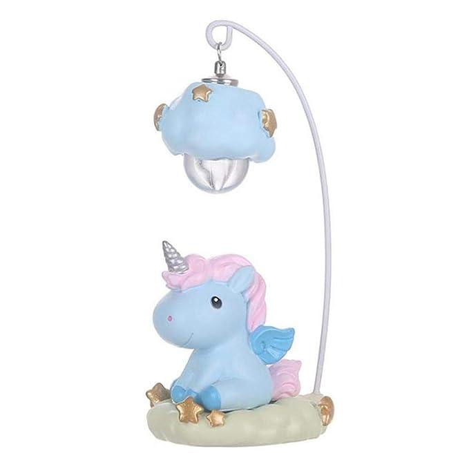 Lámpara con Unicornio Vintage