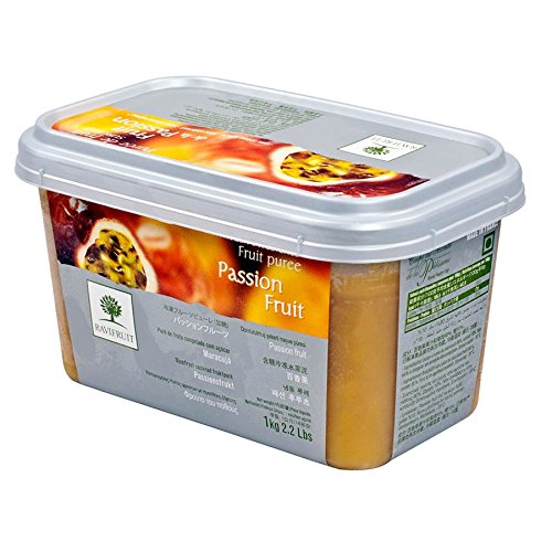 Passion Fruit Puree - 1 tub - 11 lbs by Gourmet Food World