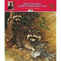 Rien Poortvliets großer Tierkalender 2020