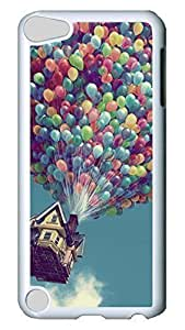 Brian114 Case, iPod Touch 5 Case, iPod Touch 5th Case Cover, Balloon House Retro Protective Hard PC Back Case for iPod Touch 5 ( white ) by icecream design