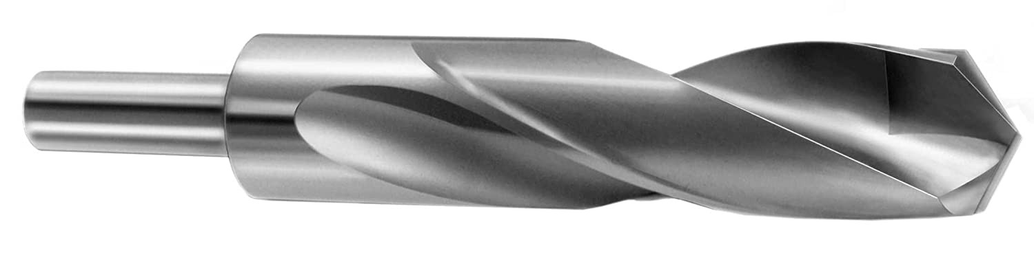 "25/32"" Carbide Tipped, 1/2"" Shank S&D Drill Bit (Silver & Deming Drill, Reduced Shank Drill) 0.7812"" 961650 51R7X33zBCL._SL1500_"