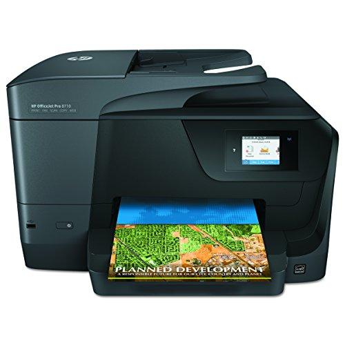 HP M9L66A Office Jet Pro 8710 All-in-One Printer Copy/Fax/Print/Scan by HP