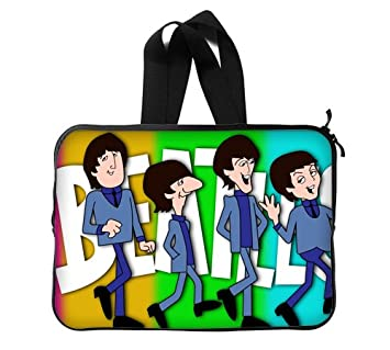 The Beatles carcasa Custom 33,02 cm funda para ordenador portátil de (doble lados): Amazon.es: Electrónica