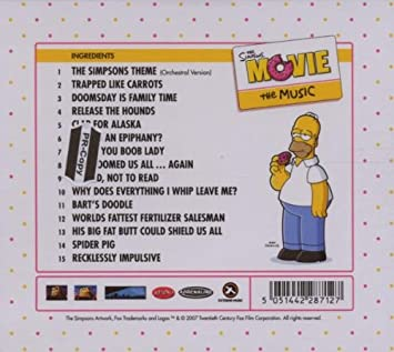 Hans Zimmer The Simpsons Movie The Music Amazon Com Music
