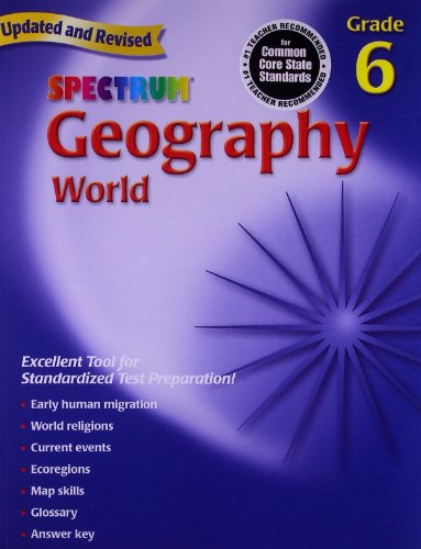 Geography, Grade 6: The World - Com Locations Spectrum