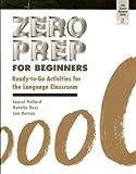 Zero Prep for Beginners, Laurel Pollard and Natalie Hess, 1882483820
