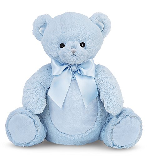 Bearington Baby Huggy Bear Lullaby Animated Musical Plush Stuffed Animal Blue Teddy ()
