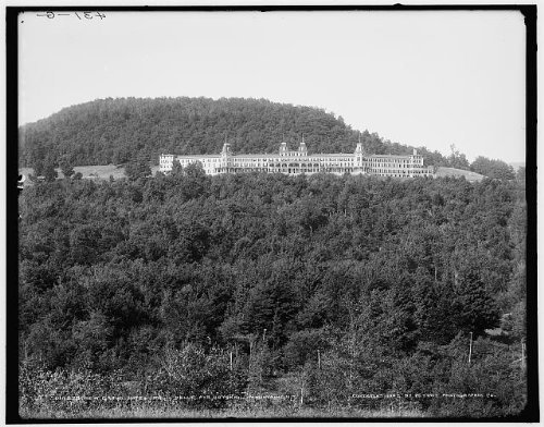 Infinite Photographs Photo: New Grand Hotel,Belle Ayr,Highmount,Resort,Catskill Mountains,New York,NY,c1902