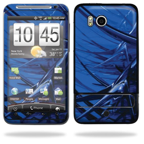 Mightyskins Protective Vinyl Skin Deca Cover for HTC Thunderbolt 4G Verizon Cell Phone wrap sticker skins - Alien forest
