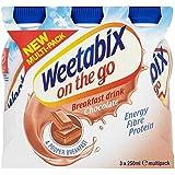 Weetabix On The Go Breakfast Drink Chocolate 3 x 250ml