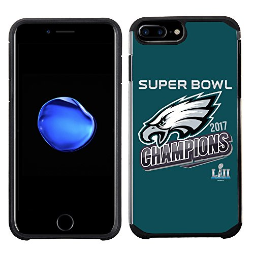 Prime Brands Group iPhone 8 Plus /7 Plus/6s Plus - Cell Phone Case - NFL Licensed Philadelphia Eagles LII Super Bowl Champions