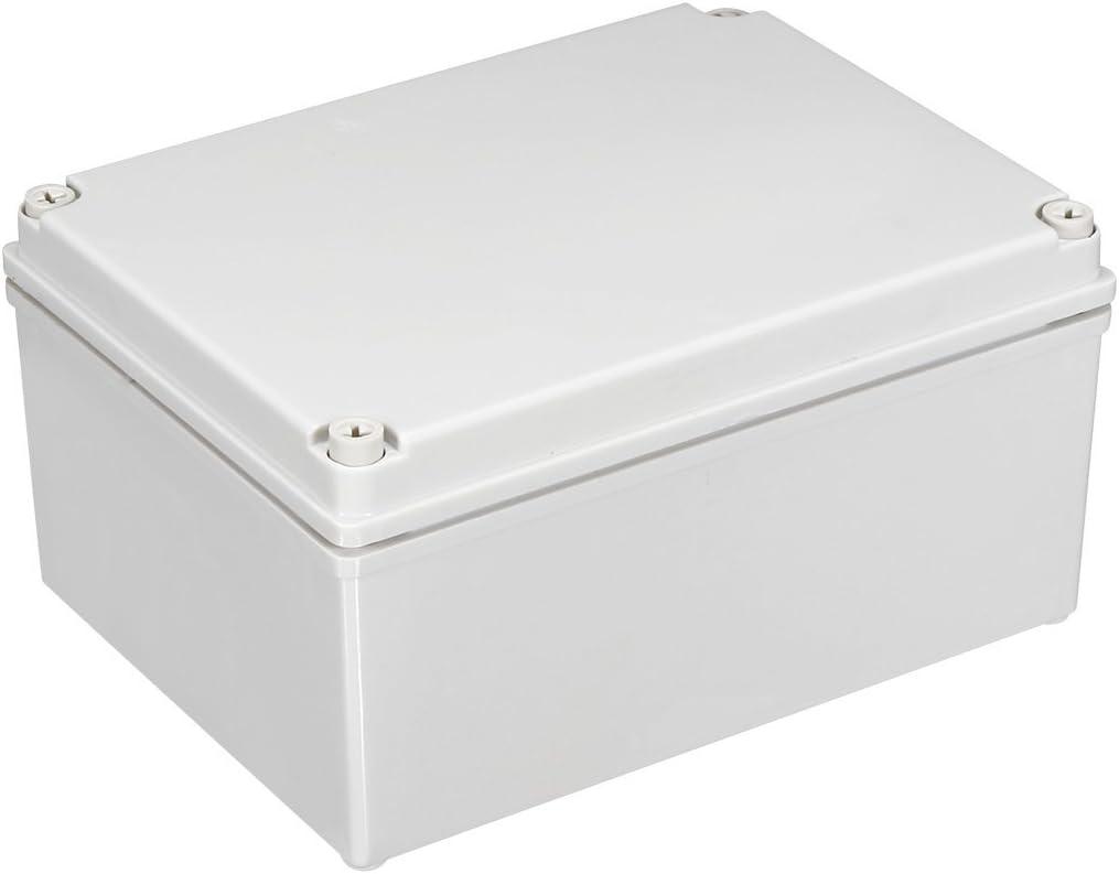 sourcingmap 65x95x55mm//2.56x3.74x2.17inch Wateproof IP67 Electronic ABS Plastic DIY Junction Project Box Enclosure Case Outdoor//Indoor