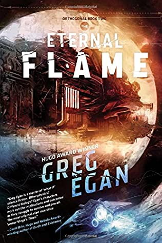book cover of The Eternal Flame