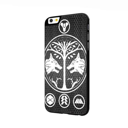 iPhone 6 6S 4.7 Inch Case Black Destiny House Of Wolves B9R7VZ