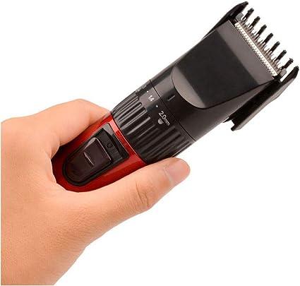 Afeitadora de pelo profesional recargable Máquina de corte de pelo ...