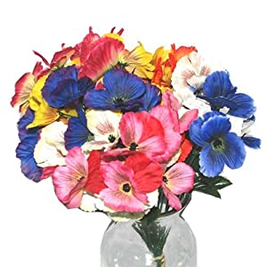 DollarItemDirect BH Artificial Pansy Stem 13in Asst Clrs, Case of 48 21