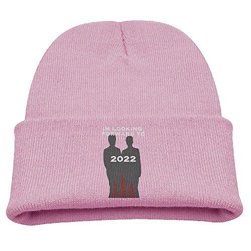 Phan Dan And Phil 2022 Sticker Cute Knit Cap Cool Crochet Slouchy Beanie Pink Baby