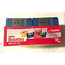 imation 50 ct Rainbow Diskettes IBM 2HD 1.44MB (Discontinued)