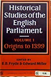 English Prliament 1 to 1399 9780521096102