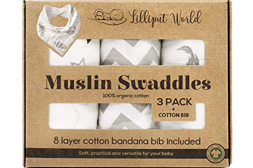Lilliput World Swaddle Blanket Organic product image
